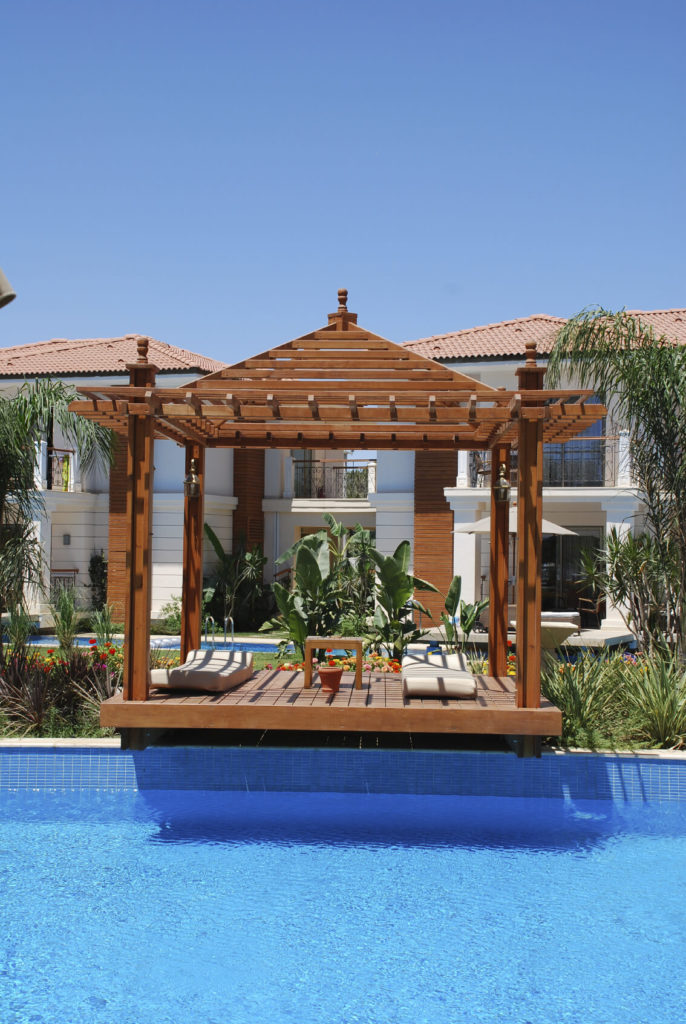 106 gazebo designs ideas wood vinyl octagon for Pool design with gazebo