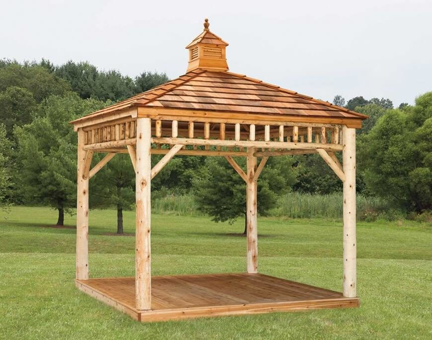 106 Gazebo Designs amp Ideas Wood Vinyl Octagon