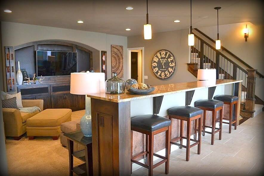 1000 Ideas About Finished Basement Bars On Pinterest