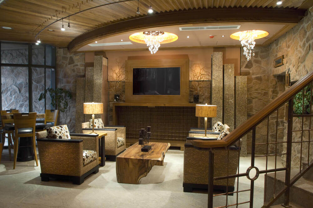 63 finished basement man cave designs awesome pictures