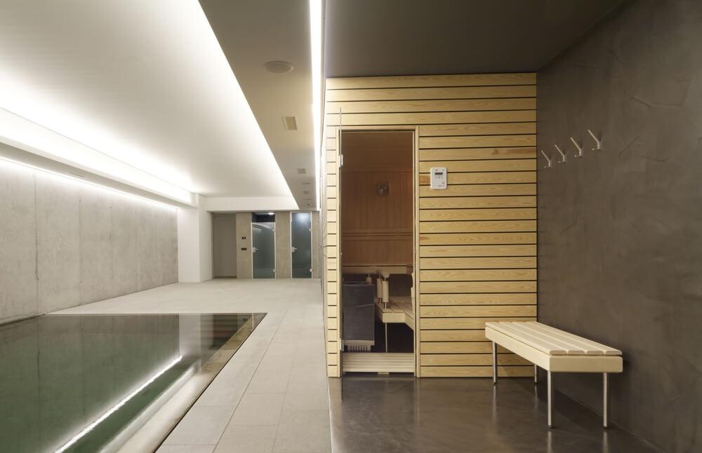 52 dry heat home sauna designs photos for Indoor sauna plans