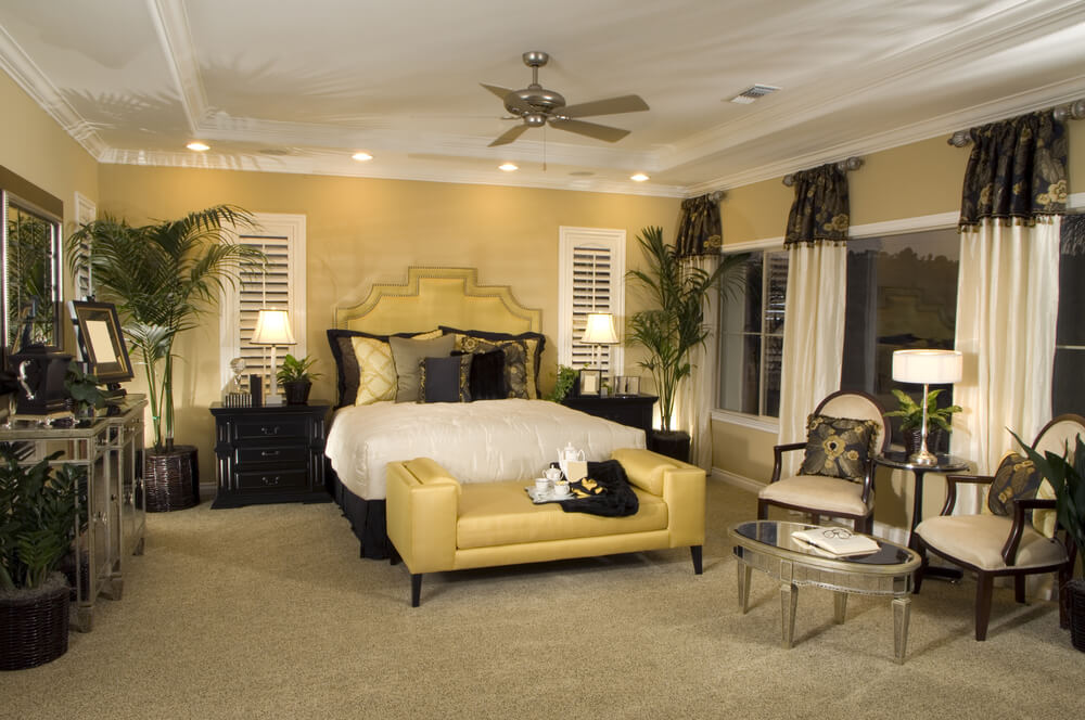 58 custom luxury master bedroom designs pictures Master bedroom with yellow walls