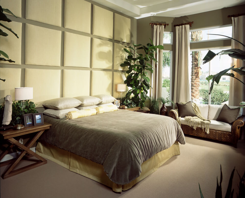 58 custom luxury master bedroom designs pictures Master bedroom bed against window