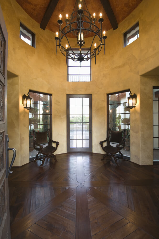 Grand Foyer Lighting : Custom luxury foyer interior designs
