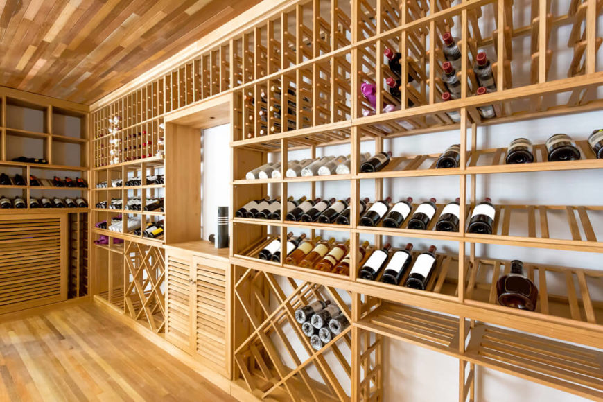 Wine Cellar Design Ideas wine cellar design ideas 10 Large Diverse Set Of Wine Storing Cabinets With Various Wine Storing Configurations In Room With Wood