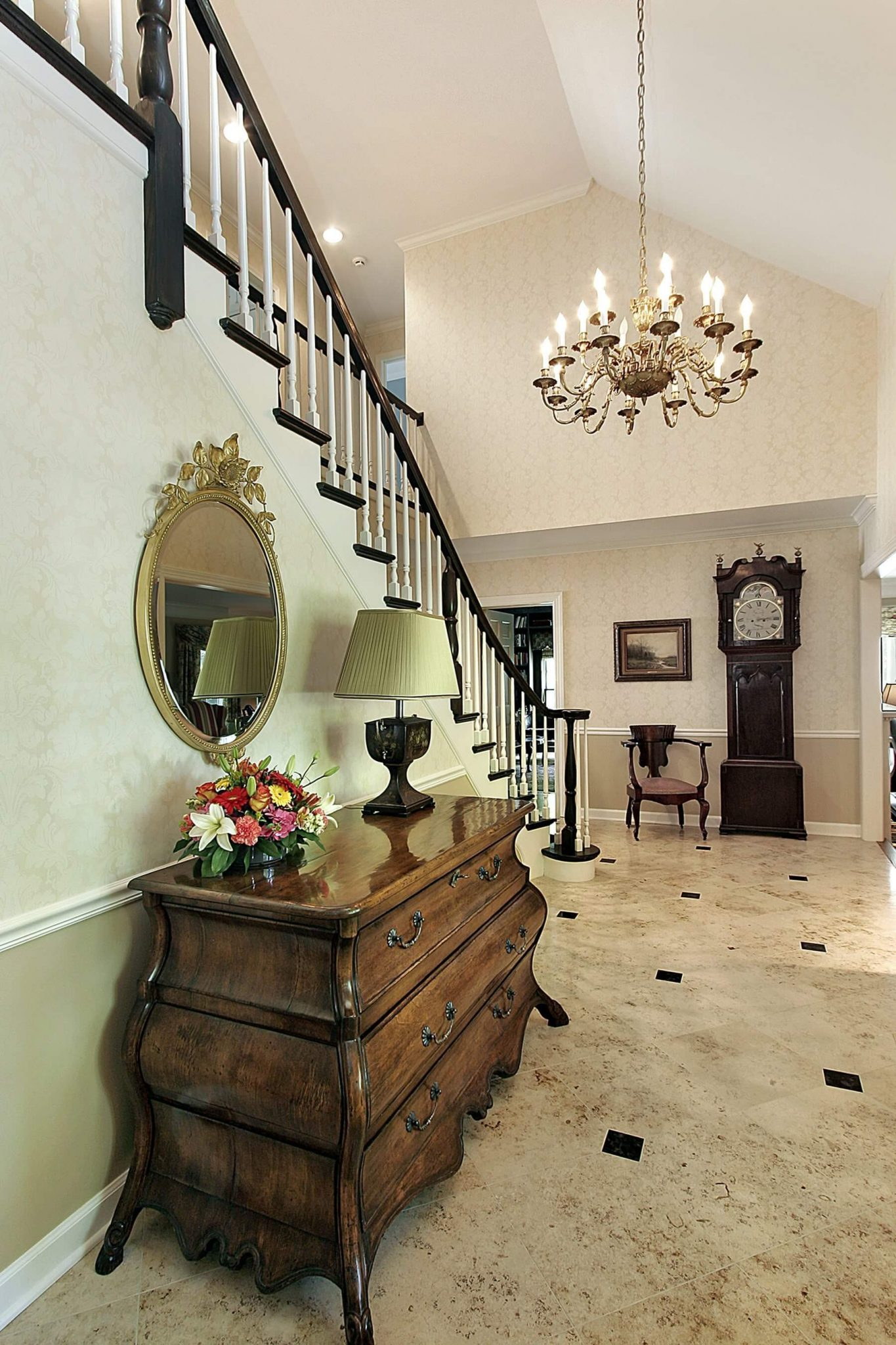 Foyer Entry Guide : Custom luxury foyer interior designs