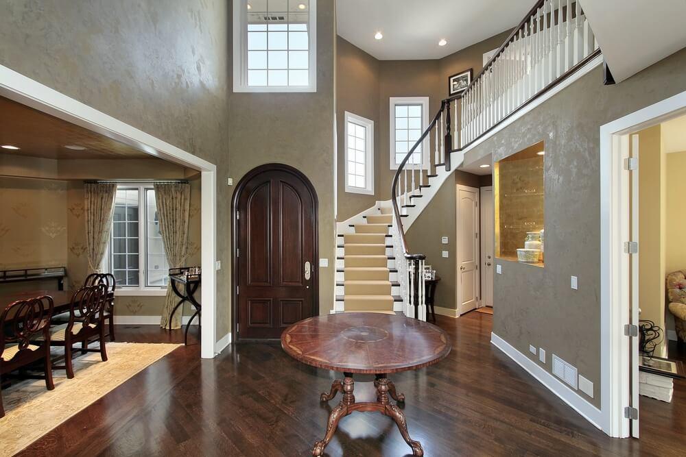 45 custom luxury foyer interior designs for Dining room entrance designs
