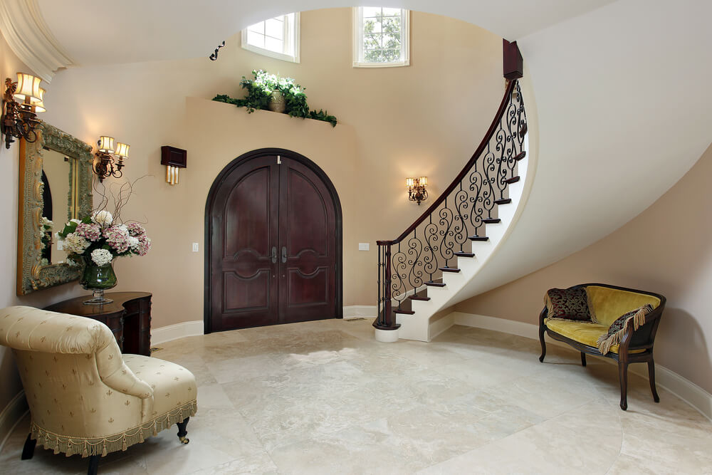 45 custom luxury foyer interior designs