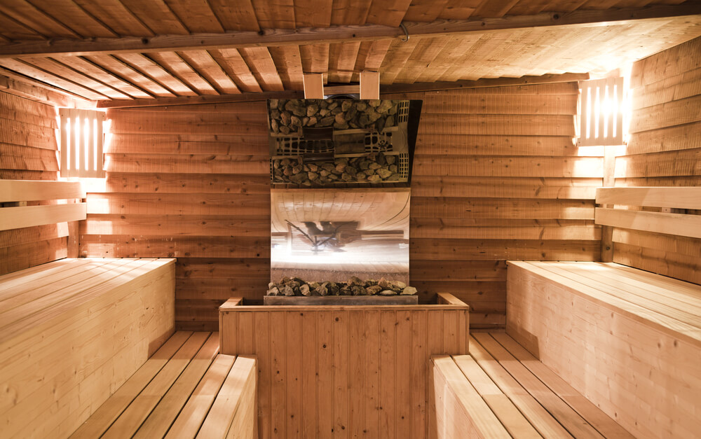 the above triple level sauna is impressive if perhaps a little larger