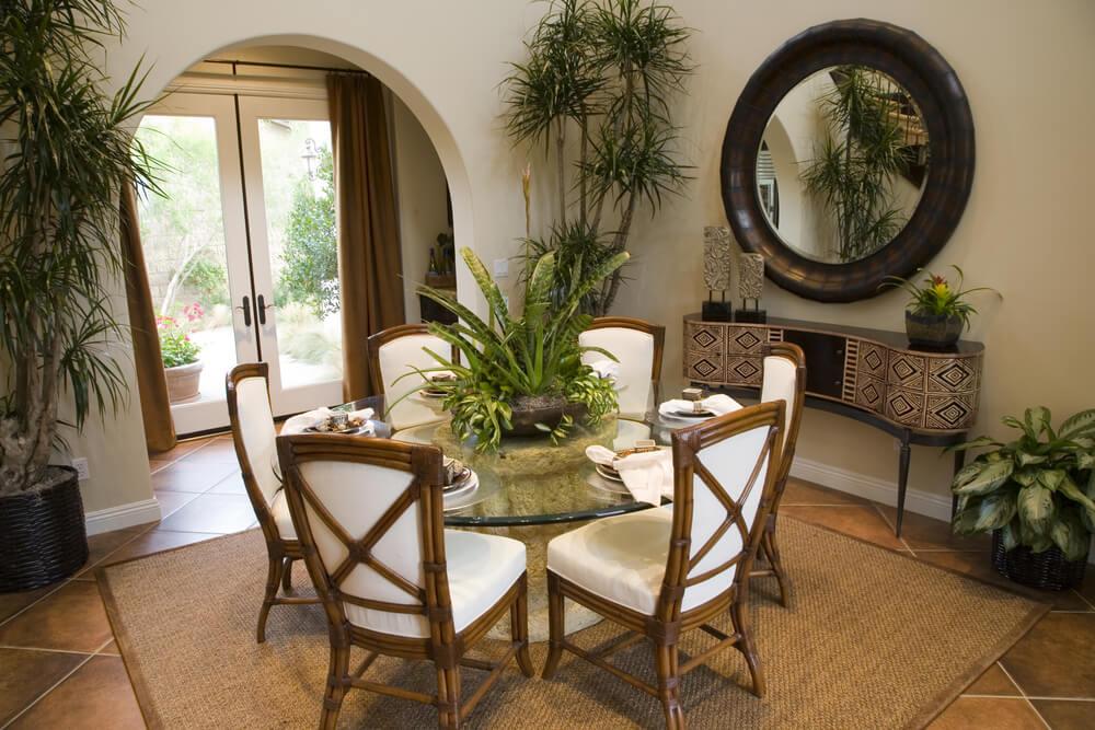 126 custom luxury dining room interior designs for Informal dining room tables