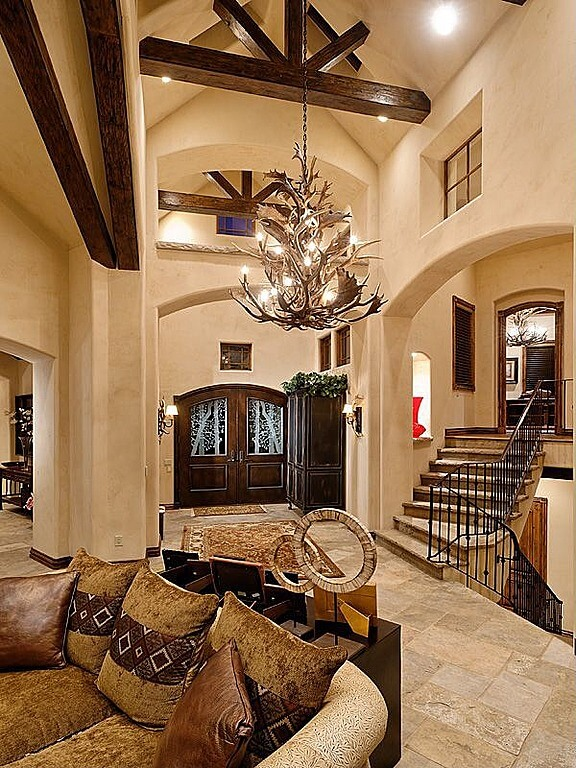 Large Open Foyer : Custom luxury foyer interior designs