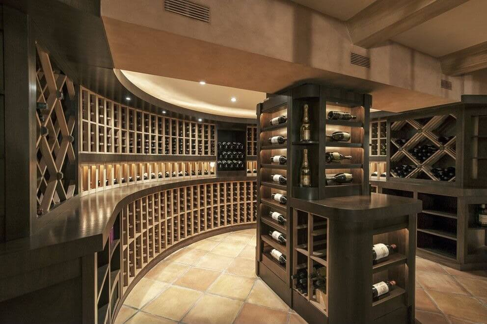 41 custom luxury wine cellar designs for Home wine cellar designs