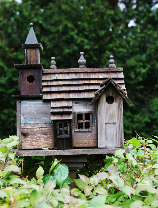 78 decorative painted outdoor wooden bird houses photos for Bird house styles