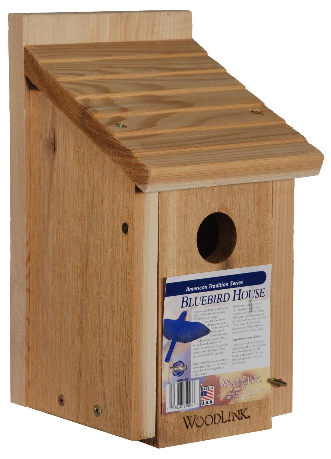 Wood Building Plans For Blue Bird Houses