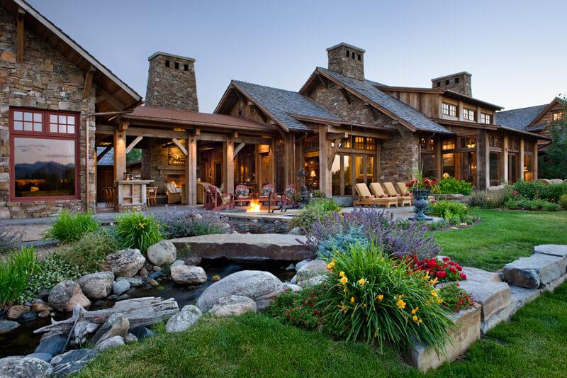 Old River Farm Residence A Stunning Custom Mountain
