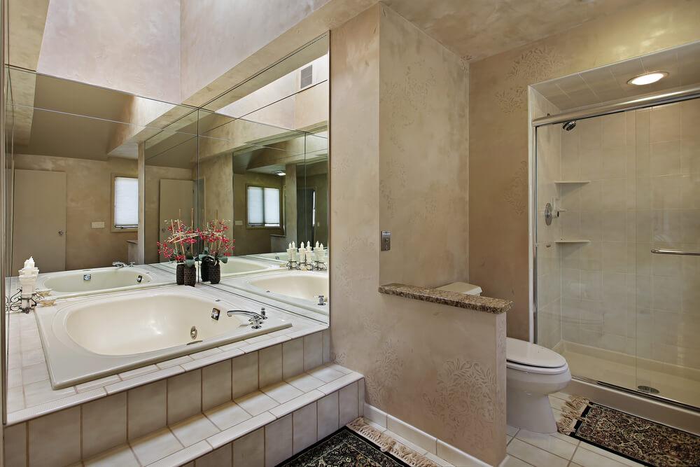 50 new home custom luxury bathroom designs for Luxus shower doors