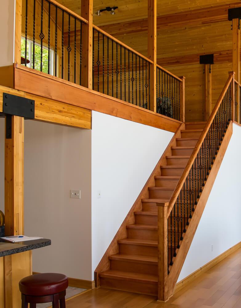 54 lofty loft room designs - Loft house plans inside staircase ...