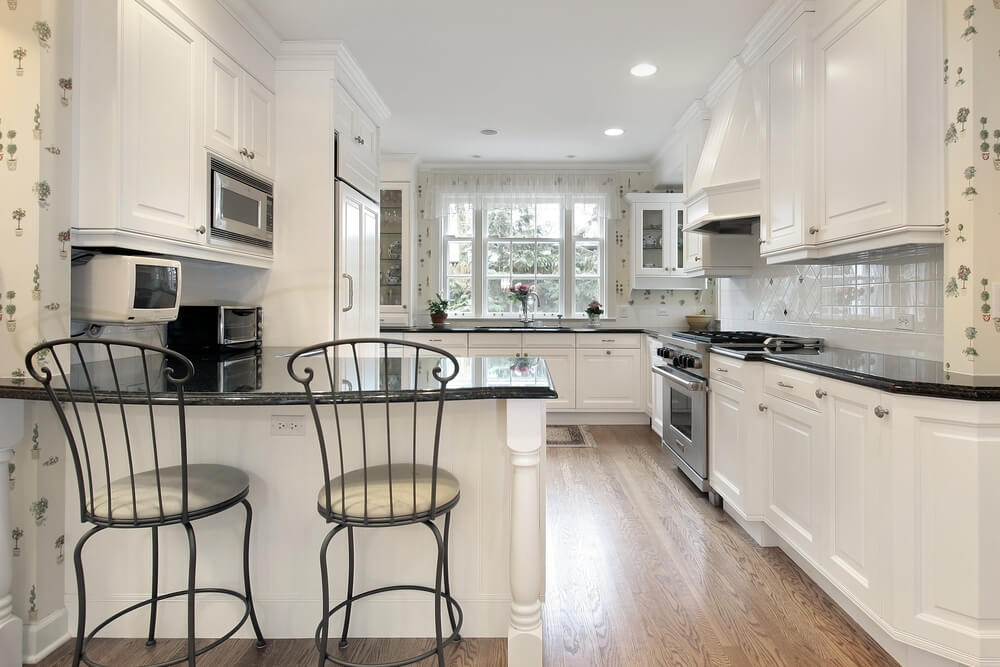 36 Brand New All White Kitchen Layouts Designs Photos