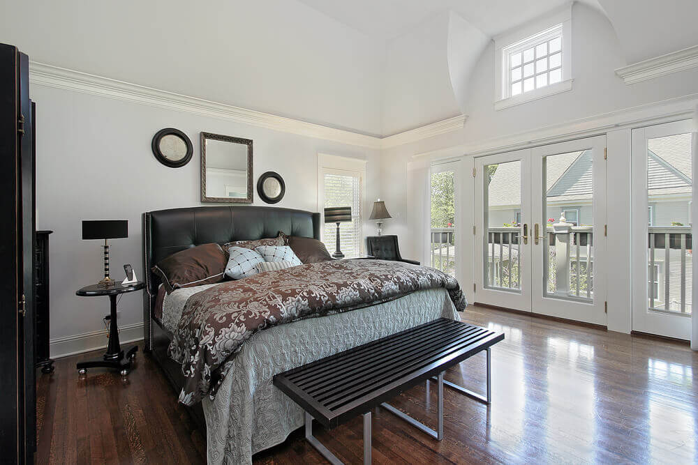 61 Bright Cheery White Bedroom Designs