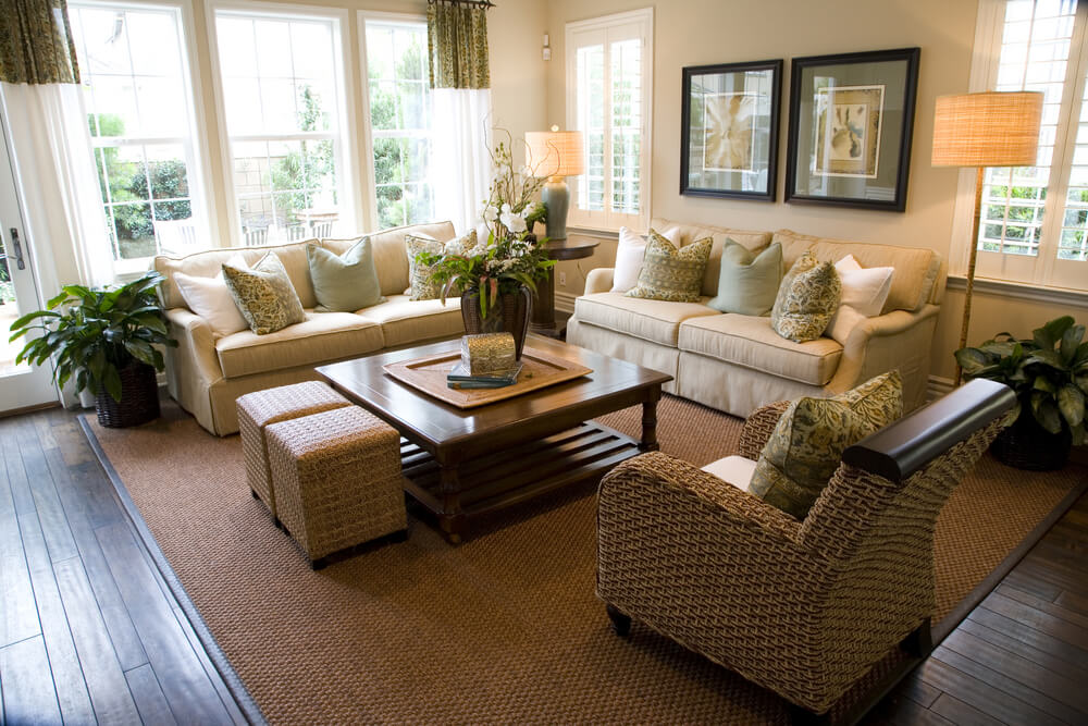 53 cozy small living room interior designs small spaces - Two sofa living room design ...
