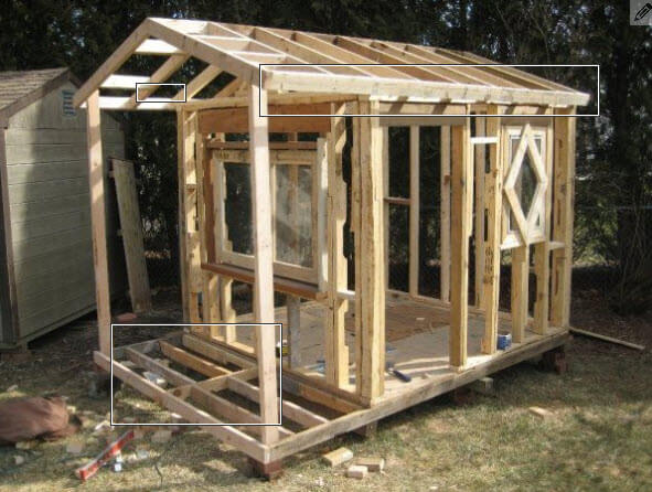How to build a playhouse with wooden pallets step by step Step by step to build a house
