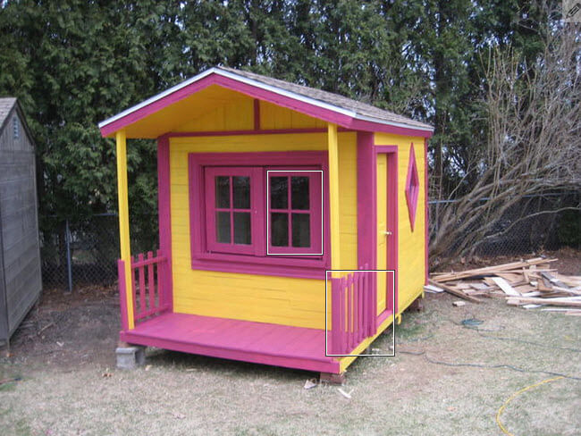 DIY Step-by-step tutorial on how to build a playhouse with wooden ...