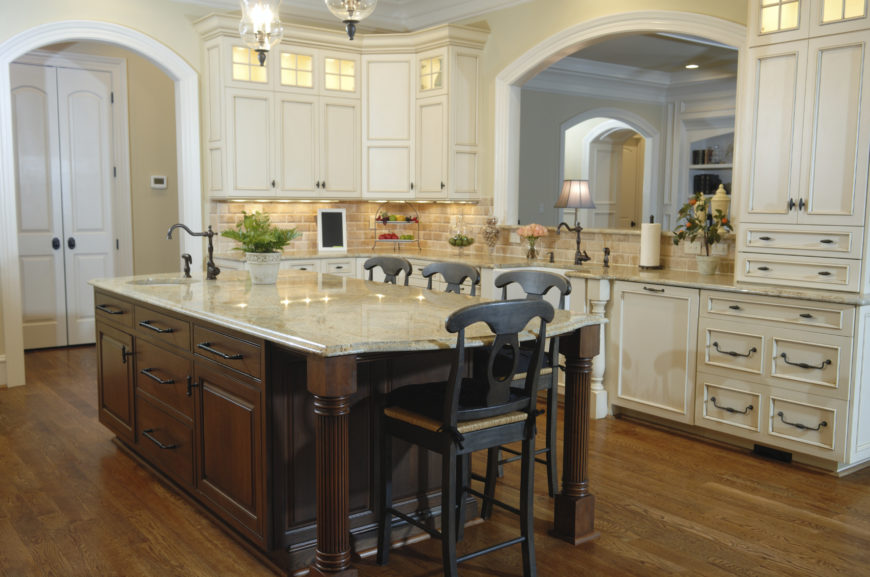 french country kitchens grand - photo #16