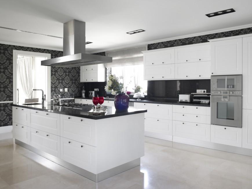 40 uber luxurious custom contemporary kitchen designs - Ultra modern kitchen designs ...