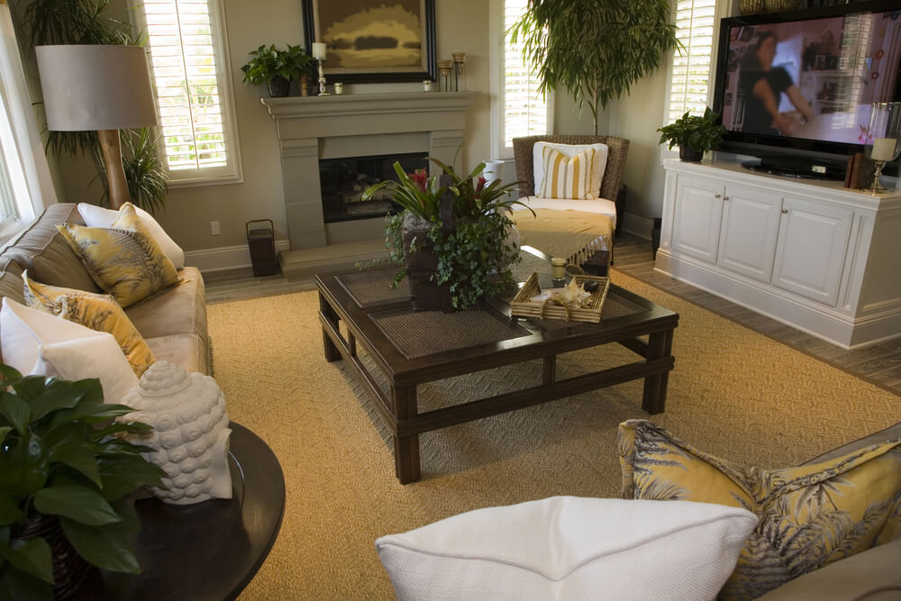 47 beautiful small living rooms diverse designs for Dark yellow living room