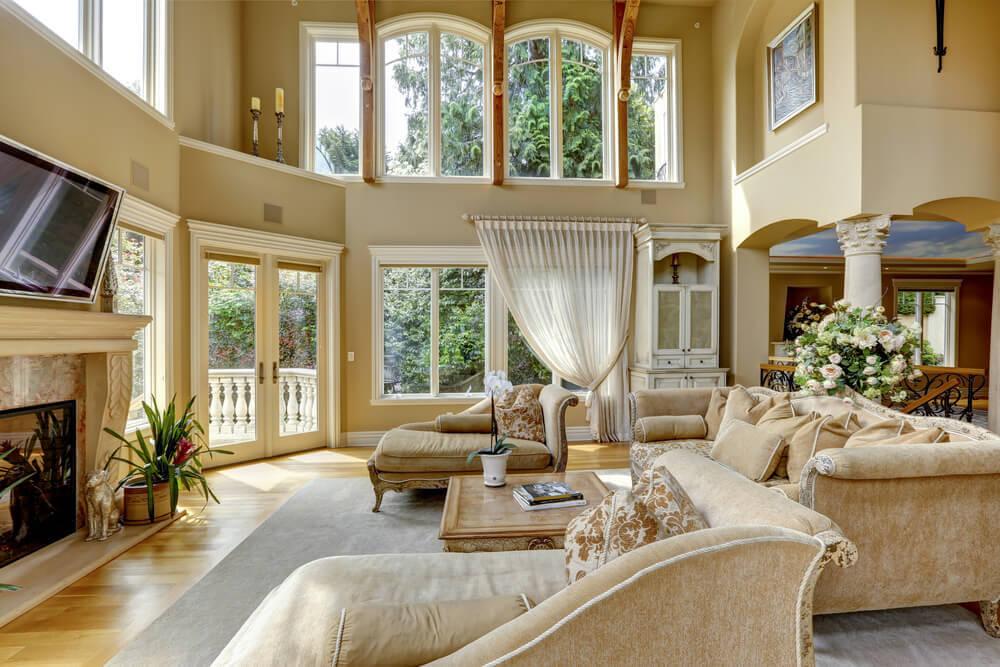 Grand Living : 51 Grand Living Room Interior Designs