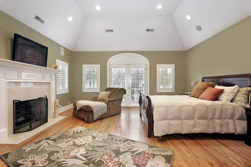 43 spacious master bedroom designs with luxury bedroom furniture - Spacious bedroom design ...