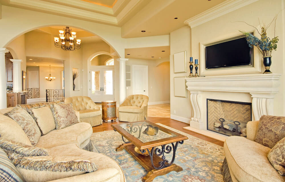 43 Light amp Spacious Living Room Interior Design Ideas : shutterstock59466373 from www.homestratosphere.com size 1000 x 640 jpeg 102kB