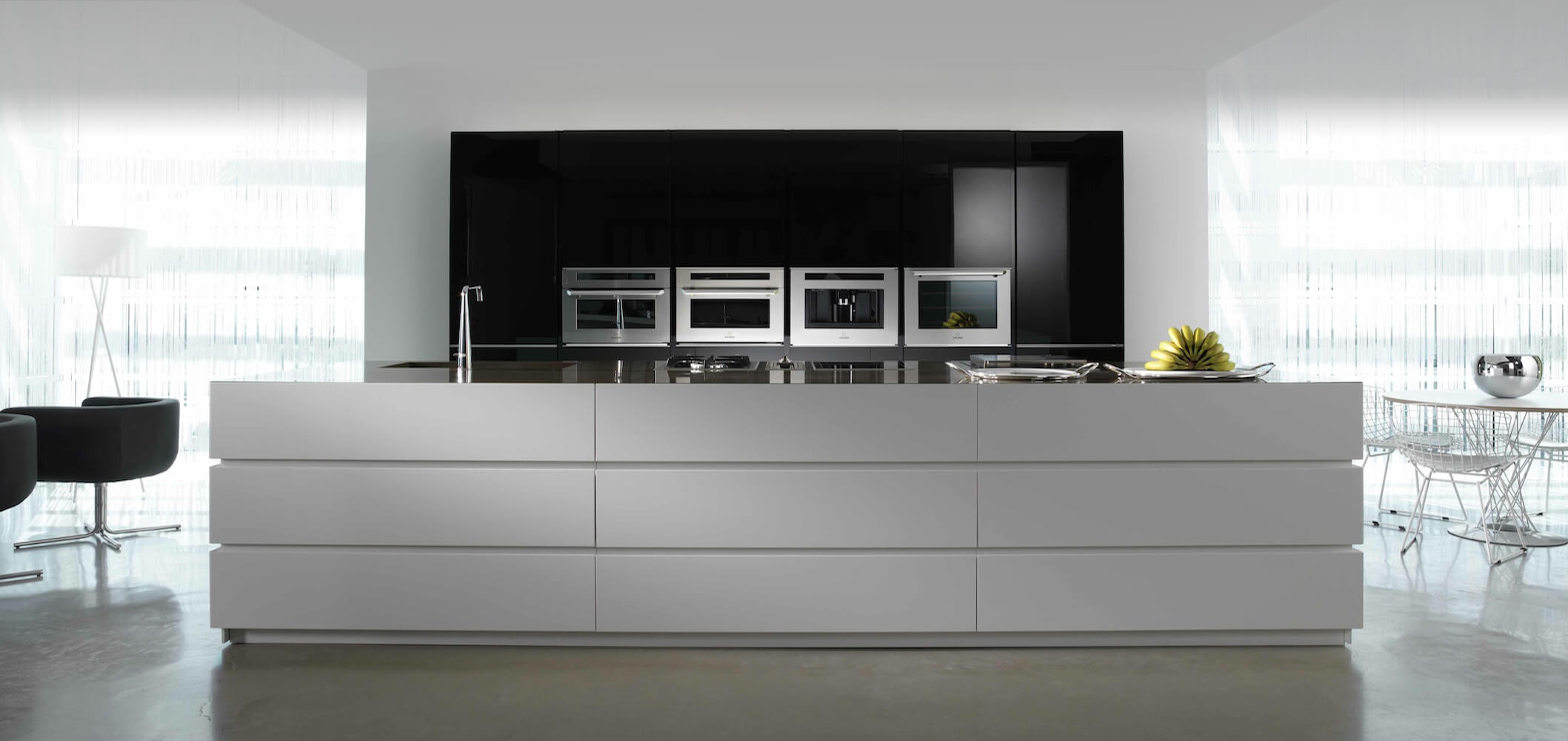 Astounding White Kitchen Cabinets Black Appliances