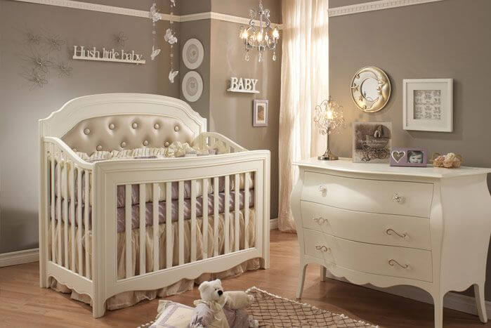 Neutral Baby Nursery Ideas on nursery color schemes