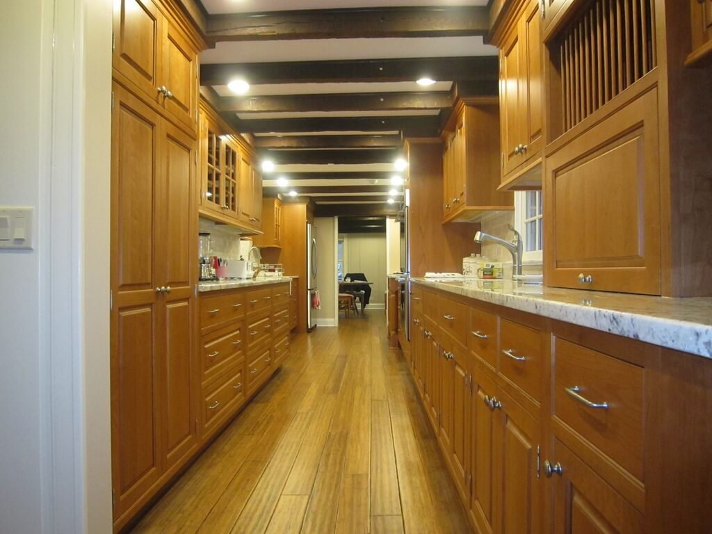22 Luxury Galley Kitchen Design Ideas
