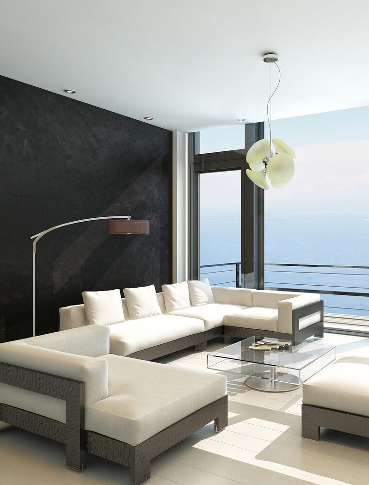 Direct Sunlit Living Room
