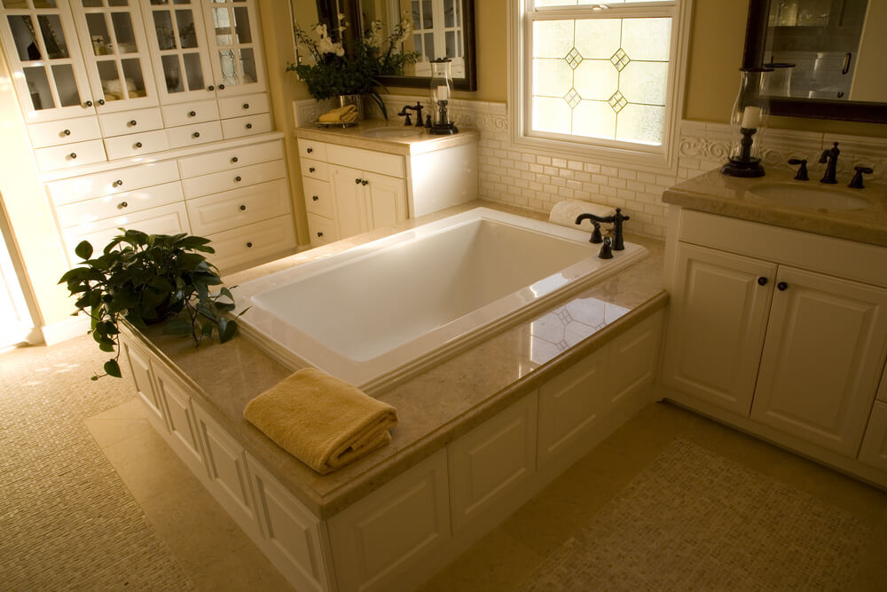 how to build a soaking tub
