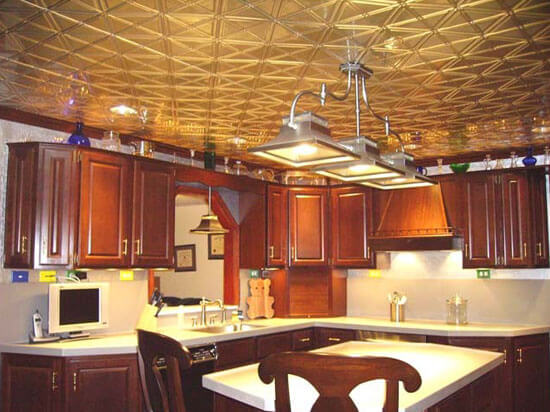 16 Decorative Ceiling Tiles For Kitchens Kitchen Photo