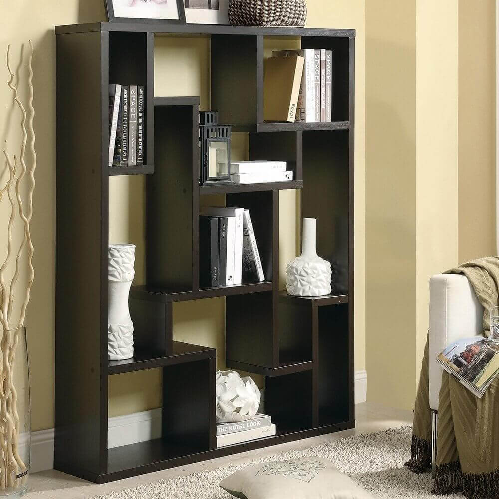Twenty 9-Cube Bookcases, Shelves and Storage Options