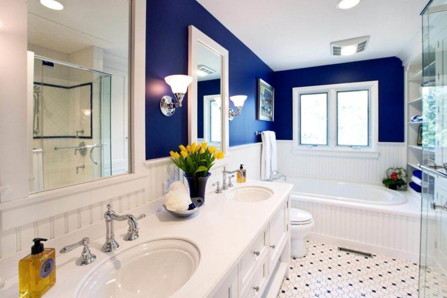 small master bath with a big vision by drury design