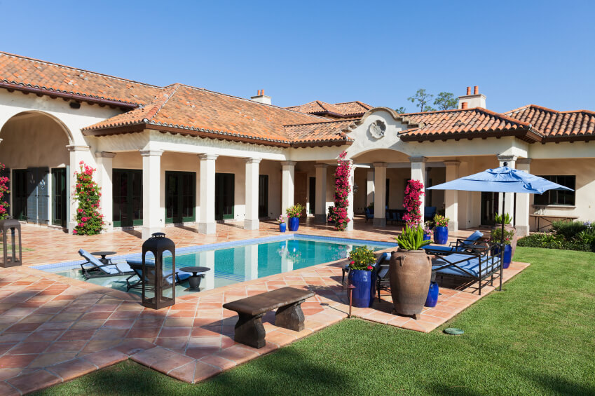 50 upscale backyard outdoor in ground swimming pools for What is swimming pool in spanish
