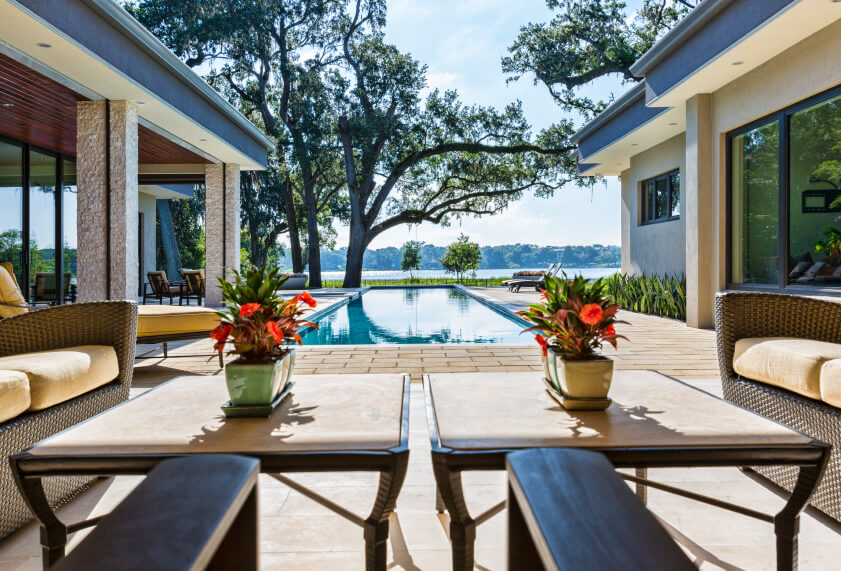 50 upscale backyard outdoor in ground swimming pools - Pools in small spaces set ...