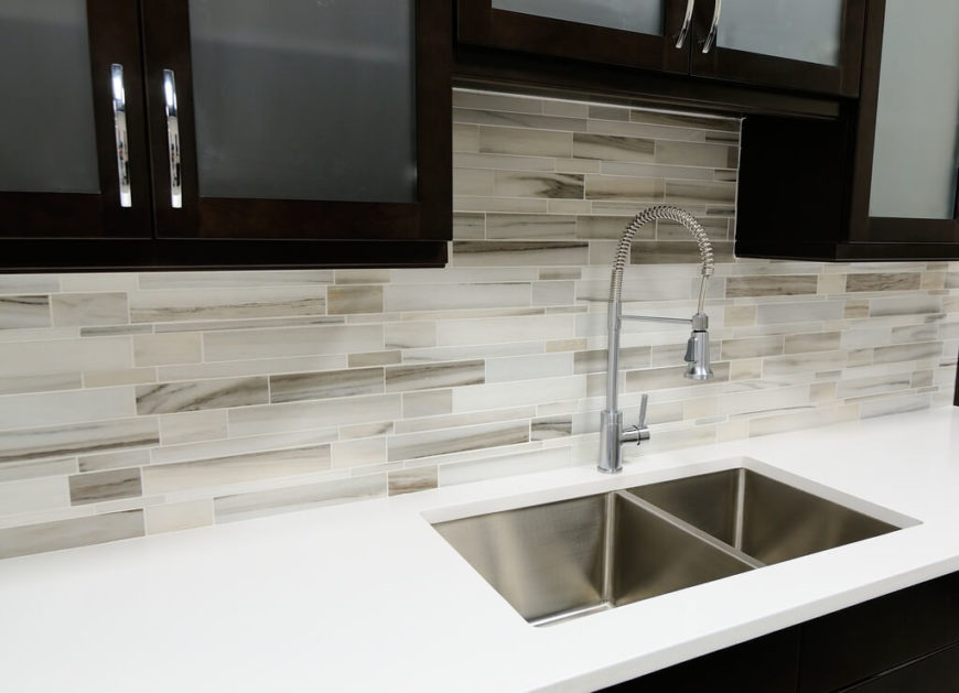 Striking Tile Kitchen Backsplash Ideas Pictures