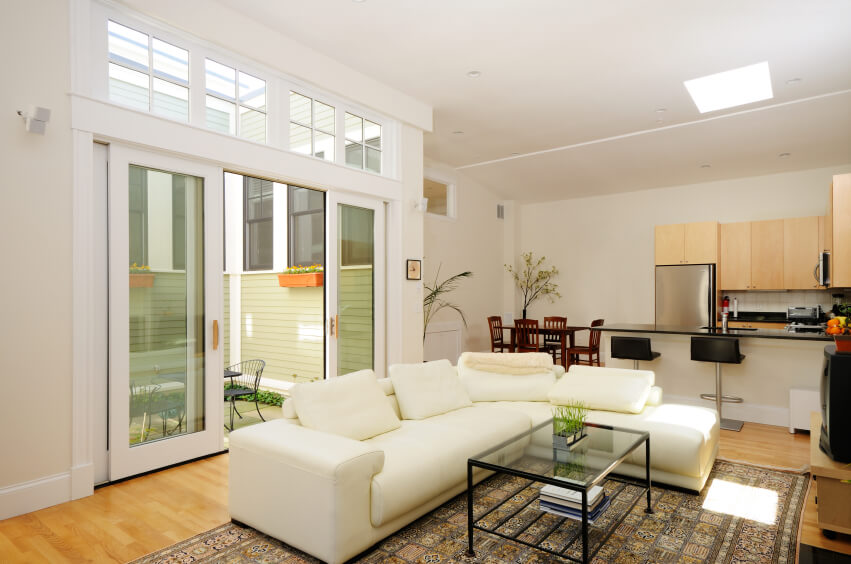 This Open Floor Plan Combines Multiple Rooms In One Flawless Design. A  Skylight Sits Above Part 35