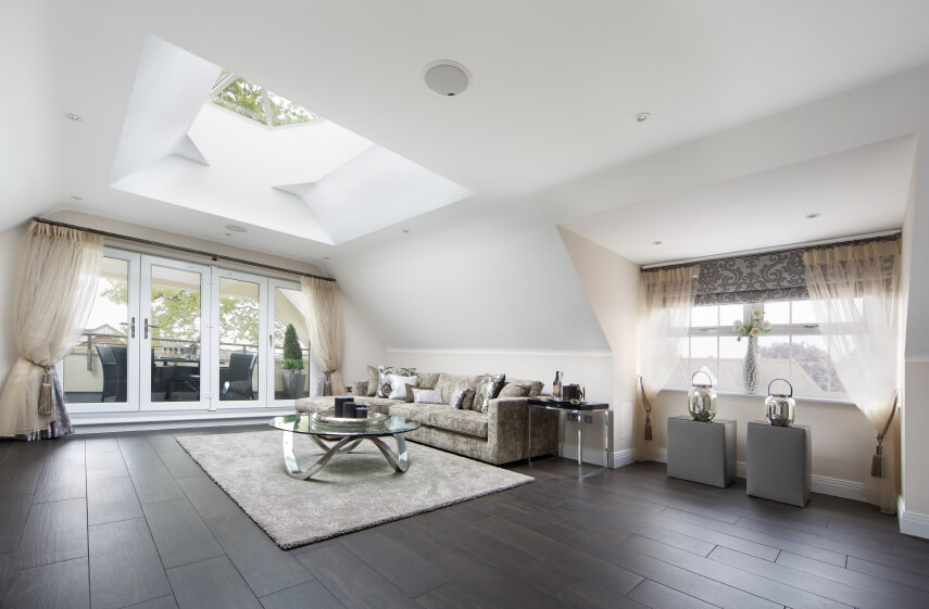 30 Naturally Lit Living Rooms With Skylights D Coration