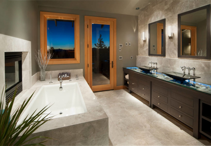 Simple Small Spa Room Curtin