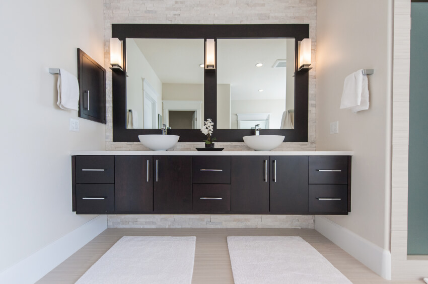Double Sink Cabinet Kitchen