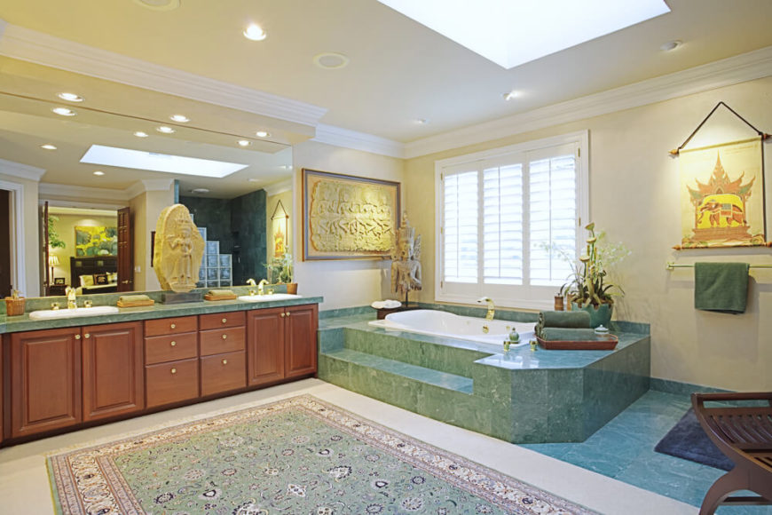 50 Beautifully Lit Bathrooms With Skylights Pictures