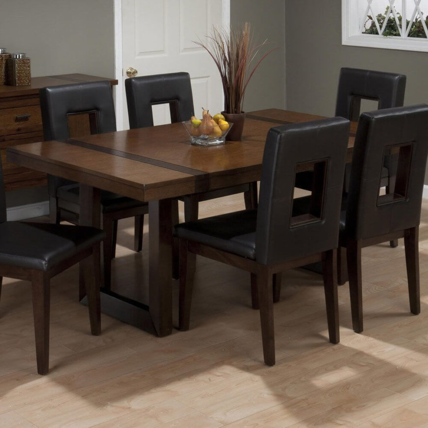 100 dining room set with leather chairs markor furniture du