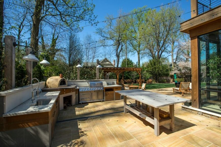 33 outdoor kitchen ideas and designs pictures for Mexican outdoor kitchen designs